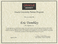 Eric-Tremblay-Oracle-Certified-Instructor-Icon